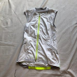 Lululemon white light full-zip vest